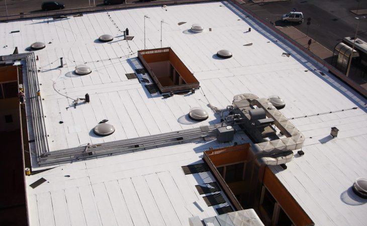 Guaina bianca tetto